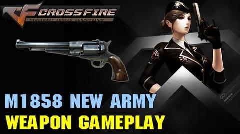 CrossFire VN - Remington M1858 New Army