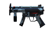 MP5KA4 Dark Gray Render