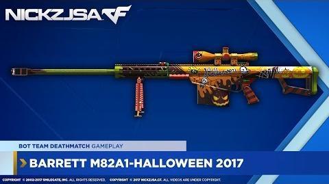 Barrett M82A1-Halloween 2017 CROSSFIRE Japan 2