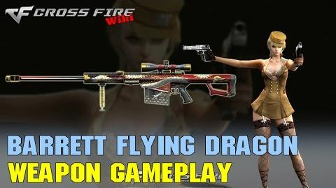 CrossFire - Barrett M82A1 Flying Dragon - Weapon Gameplay