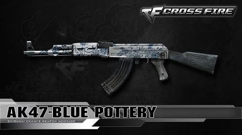 CrossFire China AK-47-Blue Pottery ☆-0