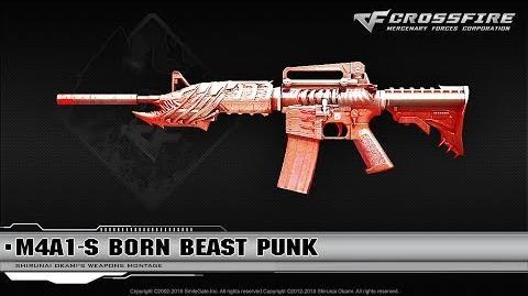 CrossFire China M4A1-S Born Beast Punk (VIP)