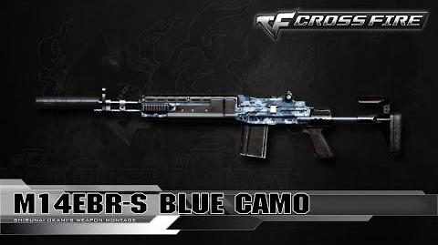 CrossFire Vietnam M14EBR-S Blue Camo ☆