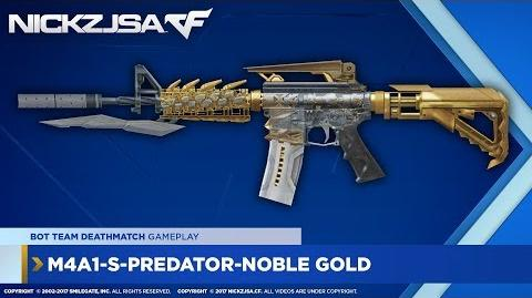 M4A1-S-Predator-Noble Gold CROSSFIRE China 2