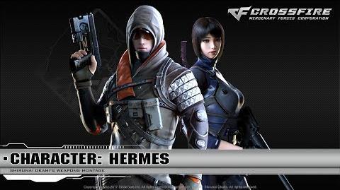 CrossFire Character Hermes Djehuti (Special) ☆