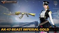 CrossFire Vietnam AK-47-Beast Imperial Gold