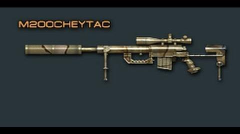 Cross Fire China CheyTac M200 Review !