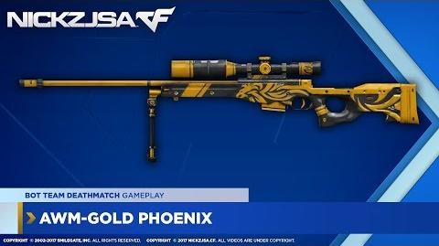 AWM-Gold Phoenix CROSSFIRE China 2.0 EXP