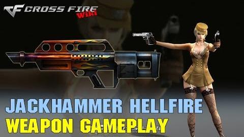 CrossFire - Jackhammer Hellfire - Weapon Gameplay