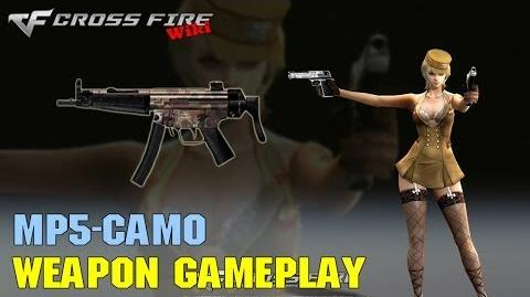 CrossFire - MP5 Camo - Weapon Gameplay