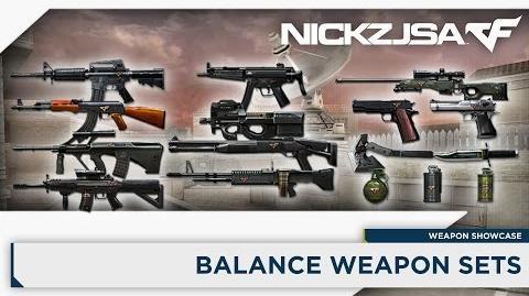 Balance Weapon Sets - Weapon Showcase