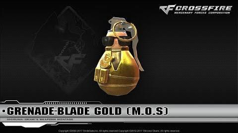 CrossFire China 2.0 Grenade-Blade Gold (M.O