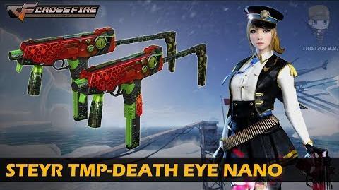 CrossFire China Steyr TMP-Change Dual Death Eye (Mutation Mode)