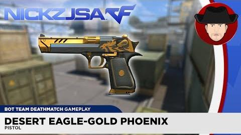 Desert Eagle Gold Phoenix CROSSFIRE China 2