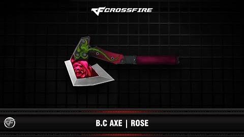 CF B.C Axe Rose