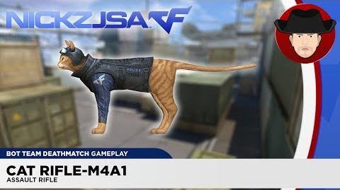 Cat Rifle-M4A1 CROSSFIRE China 2