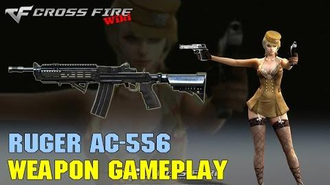 CrossFire - Ruger AC-556 - Weapon Gameplay
