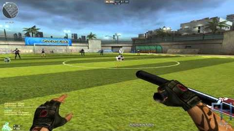 CrossFire KR - Stadium (Soccer Mode) Gameplay