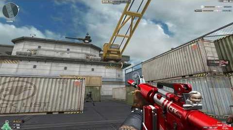 Cross Fire China M4A1-S-Dual Mag KFC!