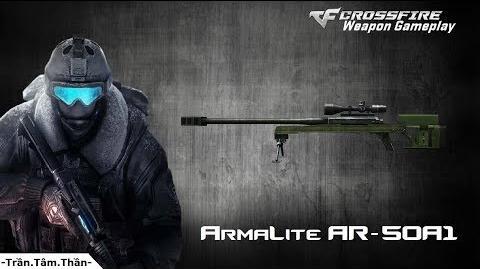 Crossfire Japan ArmaLite AR-50A1