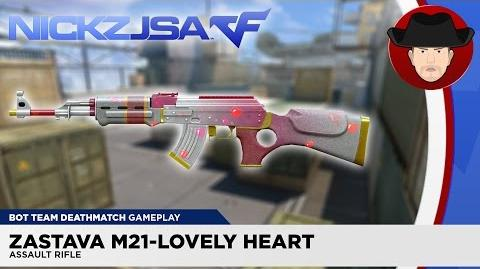 Zastava M21-Lovely Heart CROSSFIRE Japan 2