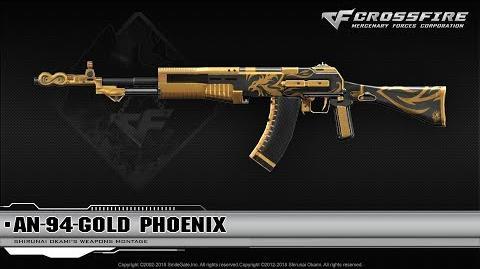 CrossFire China AN-94-Gold Phoenix