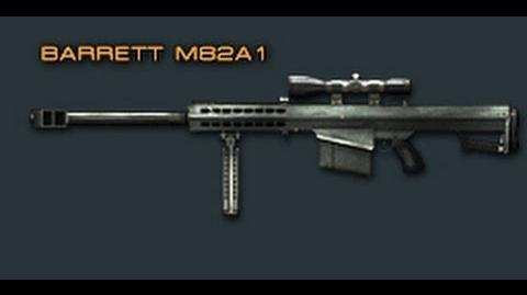 Cross Fire China -- Barrett M82A1 -Review-!
