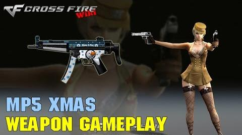 CrossFire - MP5 Xmas - Weapon Gameplay