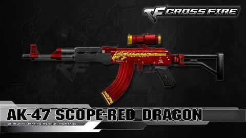 CrossFire Vietnam AK-47 Scope-Red Dragon ☆
