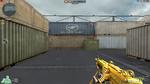 M249 Minimi Gold HUD