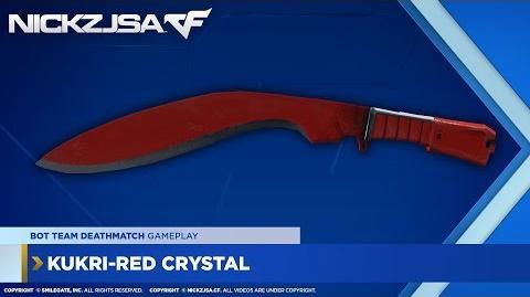 Kukri-Red Crystal CROSSFIRE China 2
