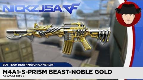 M4A1-S-Prism Beast-Noble Gold CROSSFIRE China 2