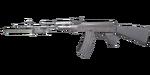 AK47 Knife U-Silver