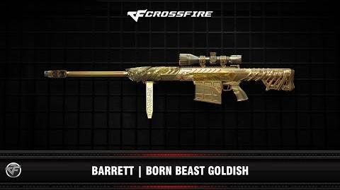 CF Barrett Born Beast Goldish (Beta)