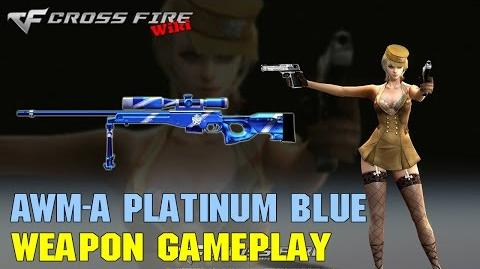 CrossFire - AWM-A Platinum Blue - Weapon Gameplay