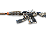 M4A1-S Under Tech-Ivory Red
