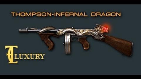 Cross Fire China -- Thompson-Infernal Dragon(Fierce Dragon(烈龙)) -Luxury- -VVIP- -Review-!