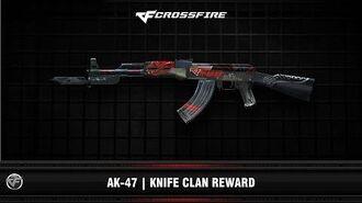 CF AK-47 Knife Clan Reward