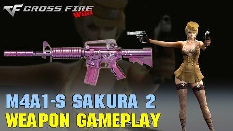 CrossFire - M4A1-S Sakura 2 - Weapon Gameplay