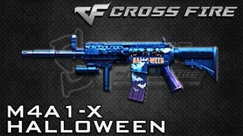 CrossFire Vietnam M4A1-X Halloween ☆