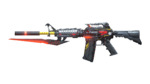 M4A1 S RED KNIFE BEAST RD
