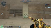 M4A1 S UNDER TECH GOLD HUD PVE