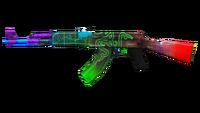 AK47-CHROMA RENDER 01