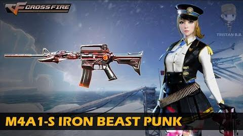 CrossFire China M4A1-S Iron Beast Punk VVIP Weapon