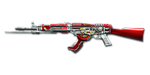 AK-47 Knife Steel Empire Noble Red