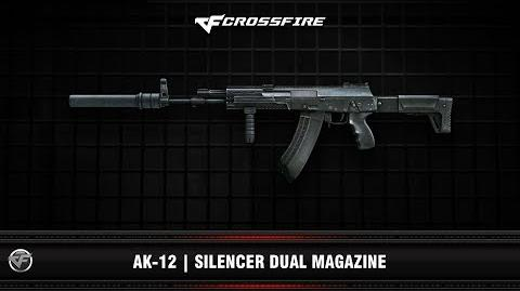 CF AK-12 Silencer Dual Magazine