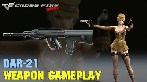 CrossFire - DAR-21 - Weapon Gameplay
