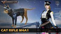 CrossFire Vietnam Cat Rifle M4A1
