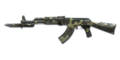 AK47 Knife OctagonCamo NoMark