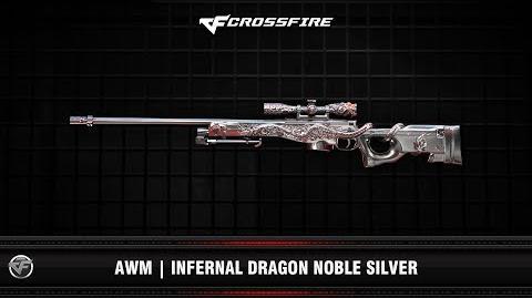 CF AWM Infernal Dragon Noble Silver